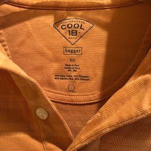 Haggar Shirts - Men's orange polo